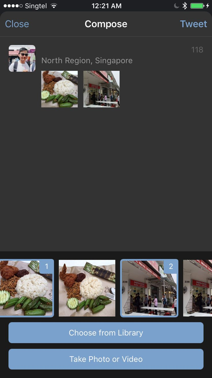 Selecting images on Tweetbot 4 (Part 2)