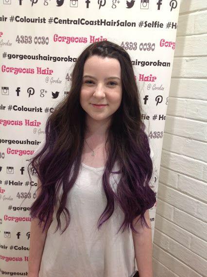 Gorgeous Hair @ Gorokan - Google+ Hairby Kylie #purple #ombre #longhair
