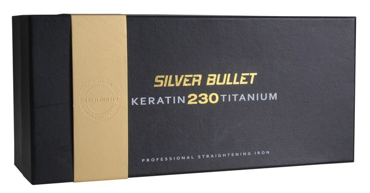 Silver Bullet Keratin 230 Gold Titanium Hair Straightener with Bonus Accessories 900435 - Salon Supplies To Your Door