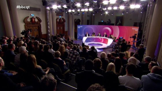 Question Time cut short after woman dies of boredom -- The BBC's Question Time recording was cut short on Thursday after an audience member passed out from boredom during the recording. Filming of the BBC One show in Colchester town hall, in Essex, was suspended when an audience member lost the will to live when Diane Abbot started... --  -- https://rochdaleherald.co.uk/2017/11/24/question-time-cut-short-after-woman-dies-of-boredom/