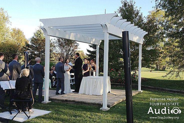 This lovely gazebo has hosted many, many joyful outdoor weddings at Arrowhead Golf Club in Wheaton. http://www.discjockey.org/real-chicago-wedding-october-10-2015/