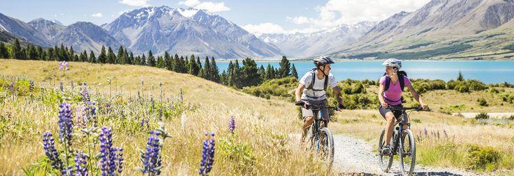 100% Pure NZ: Cycling & MTB'ing