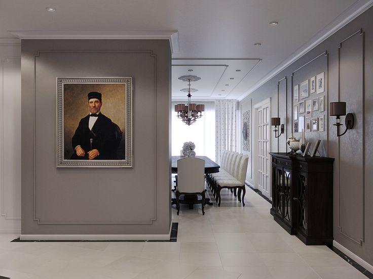 Объединяя четыре пространства - Волховец. Объединяя пространства. Межкомнатные двери – как основа интерьера | PINWIN - конкурсы для архитекторов, дизайнеров, декораторов