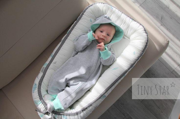 W kokonie położysz dziecko bezpiecznie na kanapie :)