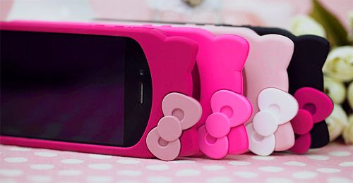 Imagen de pink, hello kitty, and iphone