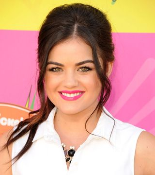 Get The Look Lucy Hales Bright Pink Lip-A bright pink lip can look either amazing or garish, depending on how the rest of the makeup is done. After seeing Lucy Hale's gorgeous look at the Nickelodeon Kids' Choice Awards, we wanted to know how Mark Celebrity Makeup Artist Fiona Stiles was able to help the actress pull it off.