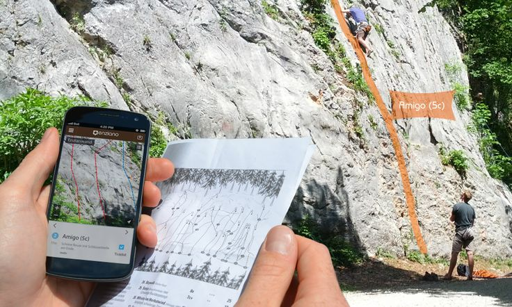 Enziano - der digitale Kletterführer