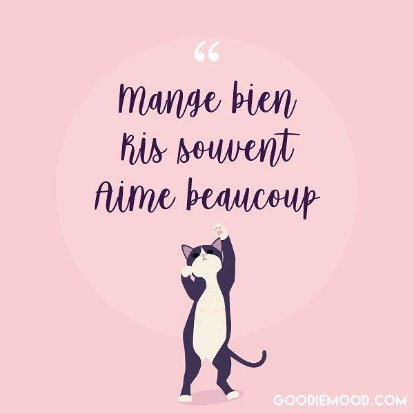 Mange Bien Ris Souvent Aime Beaucoup Beau Week End Chers Abonnes Mood Citations Optimisme Pensees Positi In 2020