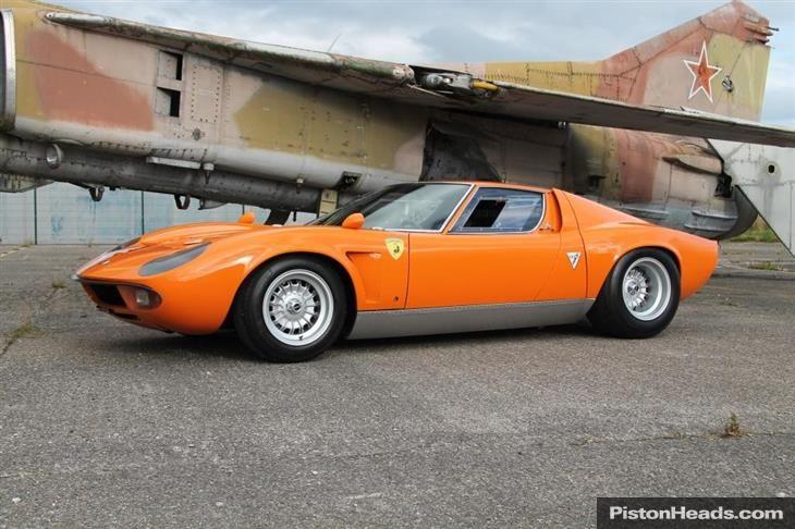 Used 1969 Lamborghini Miura for sale in Chester from Cheshire Classic Cars.