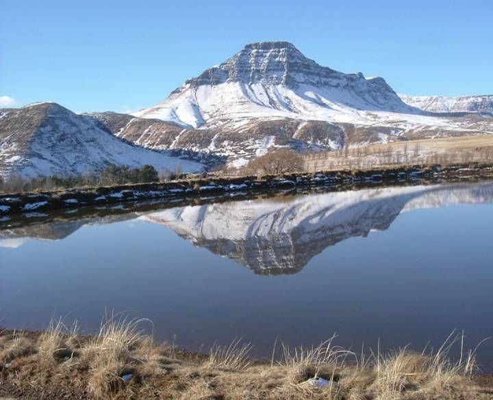 Snow in the Eastern Cape mountains