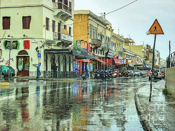 Urban Rain Print By Eleni Mac Synodinos