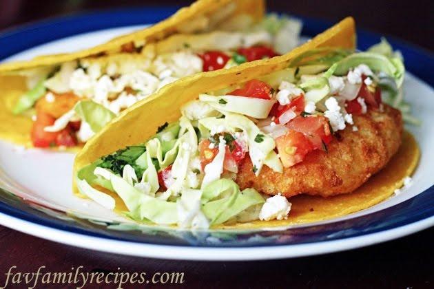 Easy fish tacos from fish tacos for Fish tacos recipe easy
