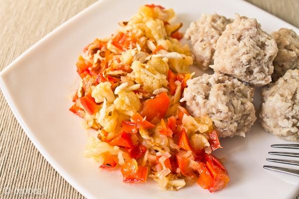 Амандин из цветной капусты (вегетарианские блюда, овощи, гарниры) - рецепт на Оголодали?