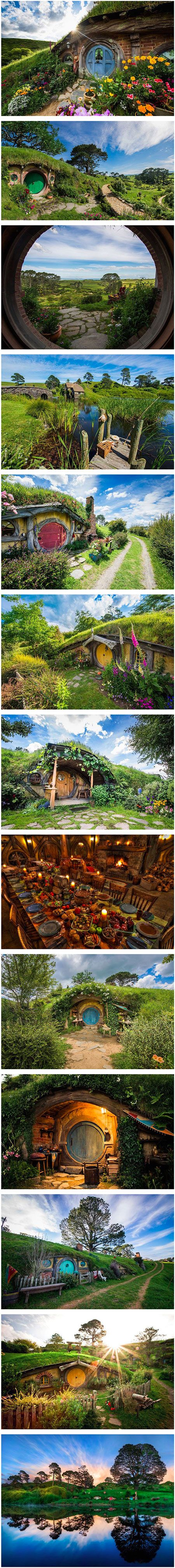 When Peter Jackson spotted the Alexander Farm during an aerial search of the North Island for the best possible locations to film The Lord of The Rings film trilogy, he immediately thought it was perfect for Hobbiton. It is now a permanent attraction complete with hobbit holes, gardens, bridge, Mill and The Green Dragon Inn.