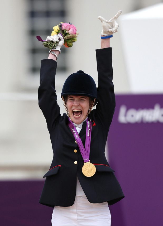 Sophie Christiansen - Equestrian - Individual freestyle 1a