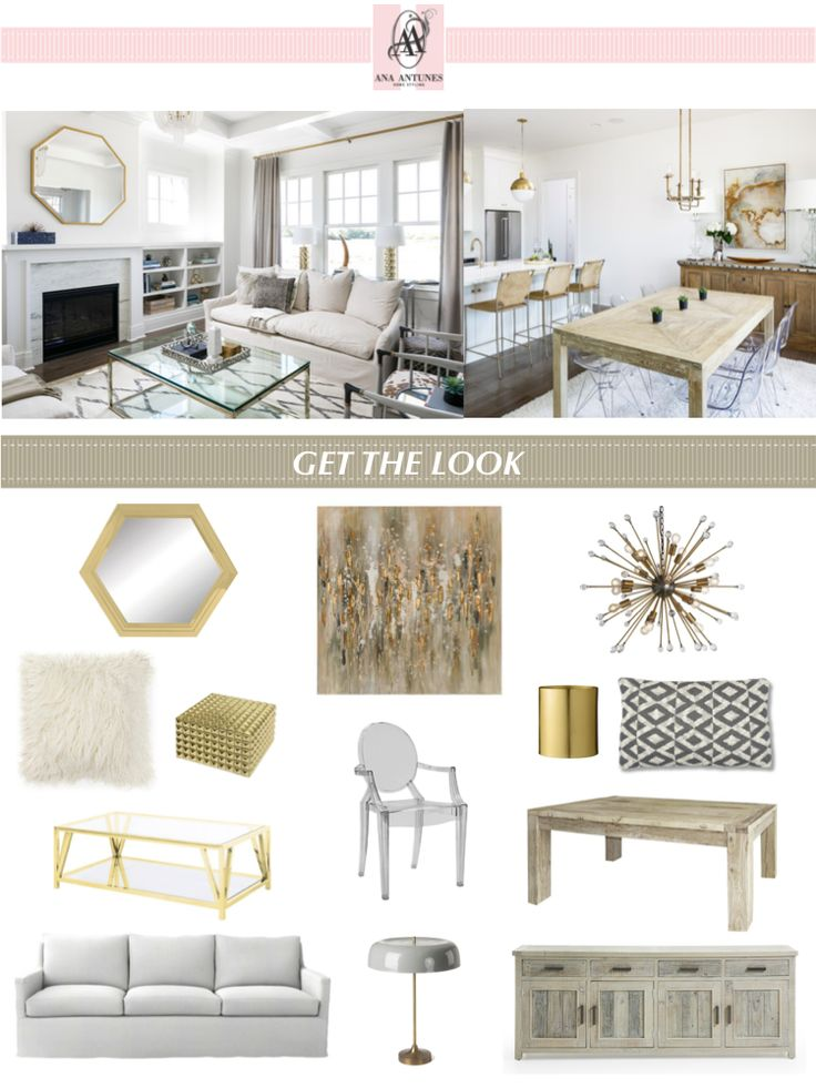 Get The Look - Copie o estilo - Transitional Elegance - by http://home-styling.blogspot.pt