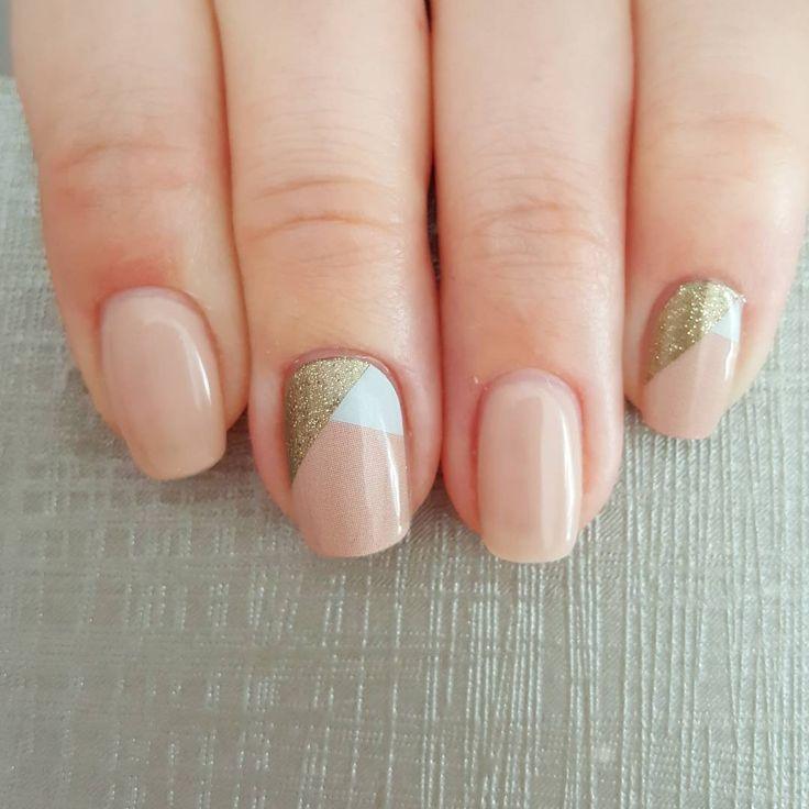 Beautiful mani for back to school! #jamberrynails #jamberry #obsessedjn #lattejn