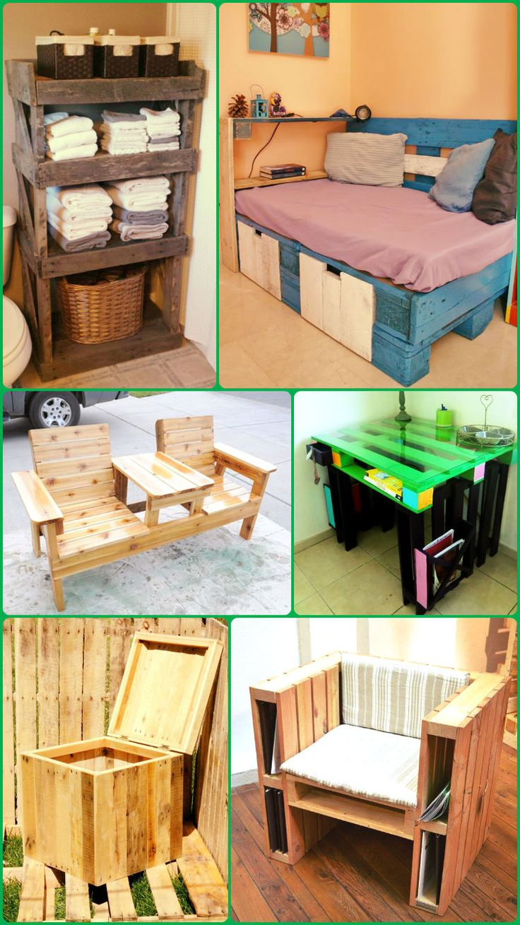 DIY: Top 10 Recycled Pallet ideas and Projects - 99 Pallets