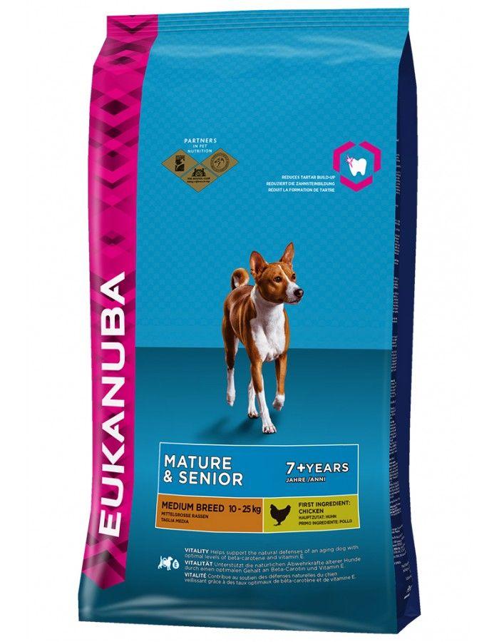 Eukanuba Mature & Senior Medium Breed 15 kg