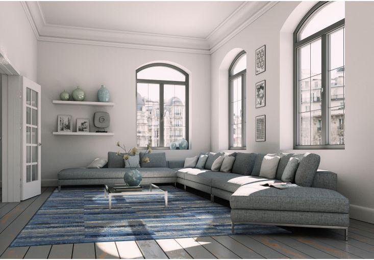 Dywany Mosaiq :: Dywan vintage 8401 Blue Jeans - Carpets&More - wysokiej klasy dywany i akcesoria tekstylne