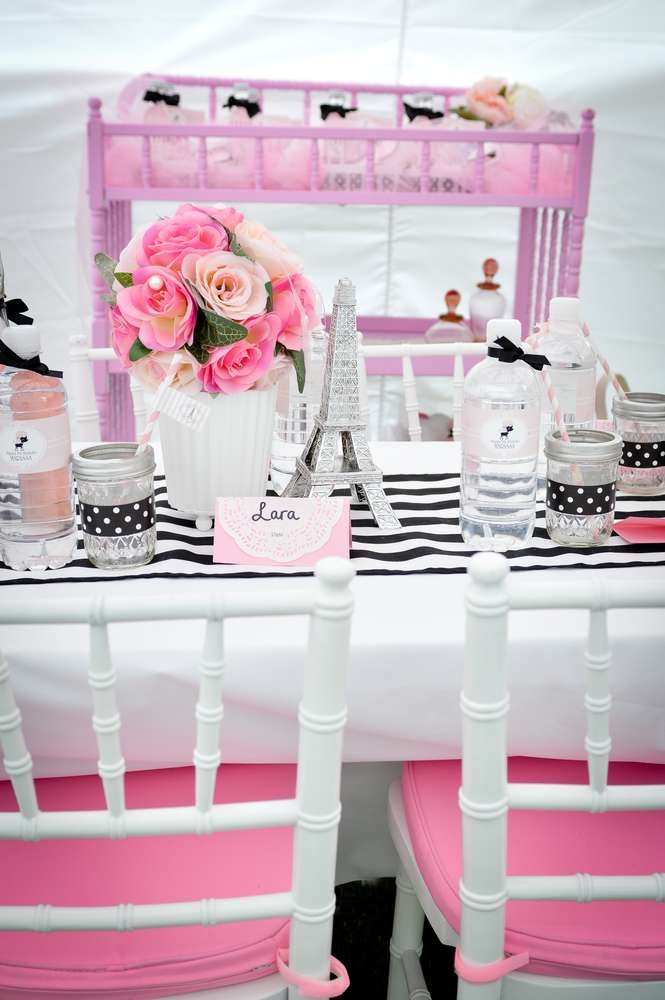 60 best images about katelyn 39 s 9th birthday on pinterest for Paris themed kitchen ideas