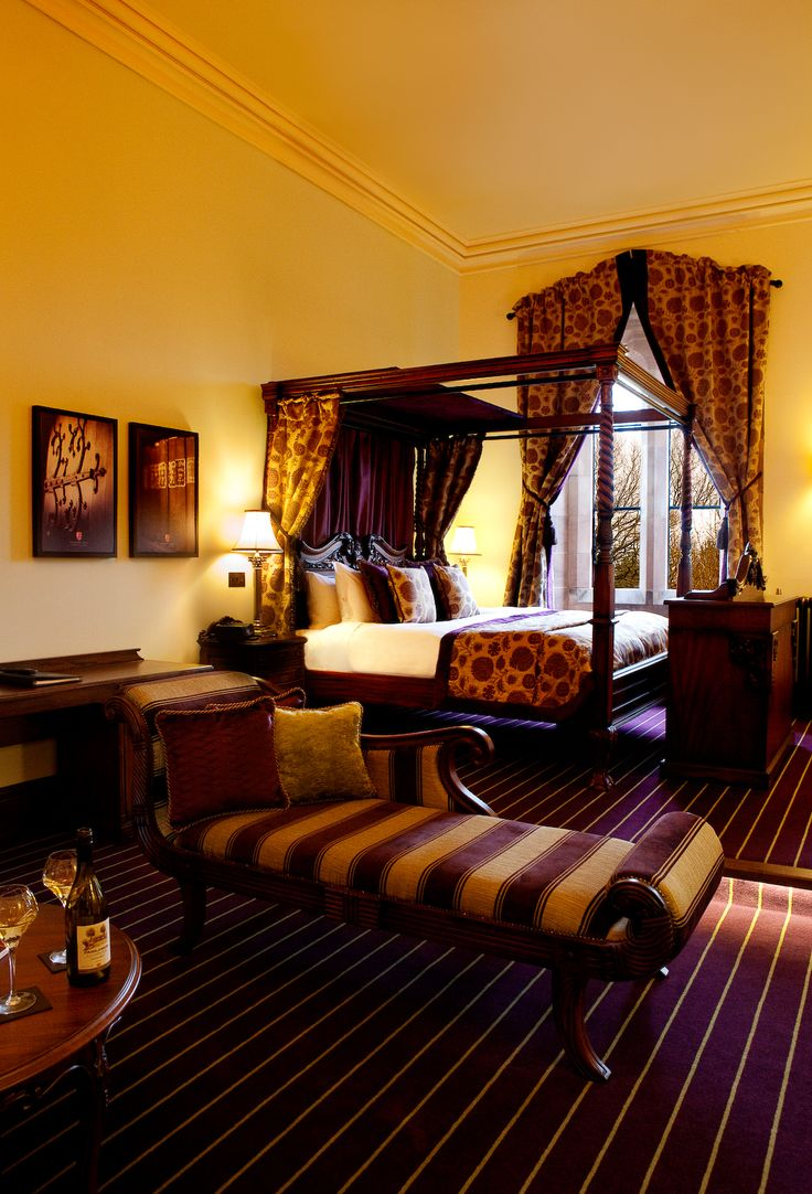 Peckforton castle hotel rooms 4 poster - Bridal Room At Peckforton Castle Hotel Rooms 4 Poster