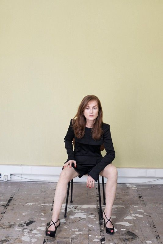 Isabelle Huppert - Kate Barry - Portraits   Gallois Montbrun & Fabiani