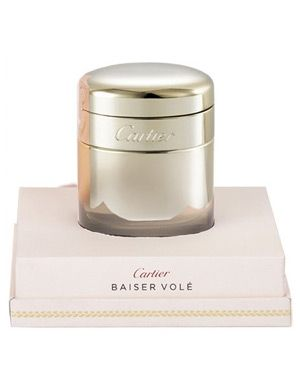 Baiser Vole Extrait de Parfum by Cartier is a soft, spicy, green, white Floral fragrance featuring lily flower and green leaves. - Fragrantica