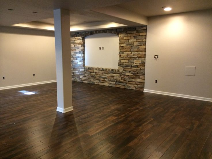 100 best basement images on pinterest basement stair for Hardwood floors with gray walls