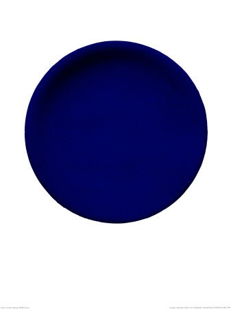 Yves Klein, Blue Circle.