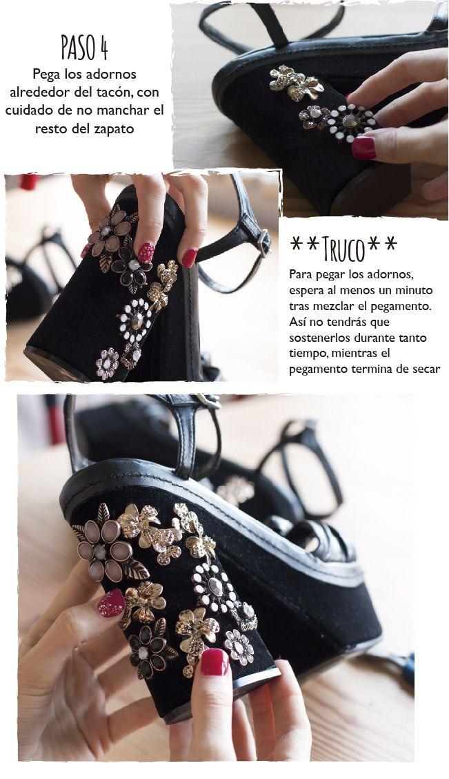 Dare to DIY: DIY Zapatos inspirados en Dolce & Gabbana