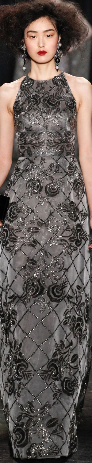 Naeem Khan Fall/Winter 2016 RTW 2016 RTW LOLO repin Bella Donna's Luxury Designs