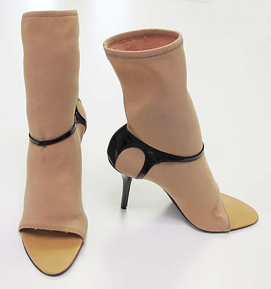 Shoes by Helmut Lang (Austrian, born 1956) Date: spring/summer 2003 Culture: Austrian Medium: synthetic, patent leather