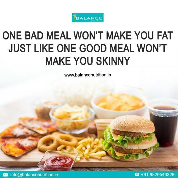 2 tips that we should always keep in mind for a healthy weight loss. It's always about HOW MUCH and not What when it comes to eating any food :) www.balancenutrition.in  1/2