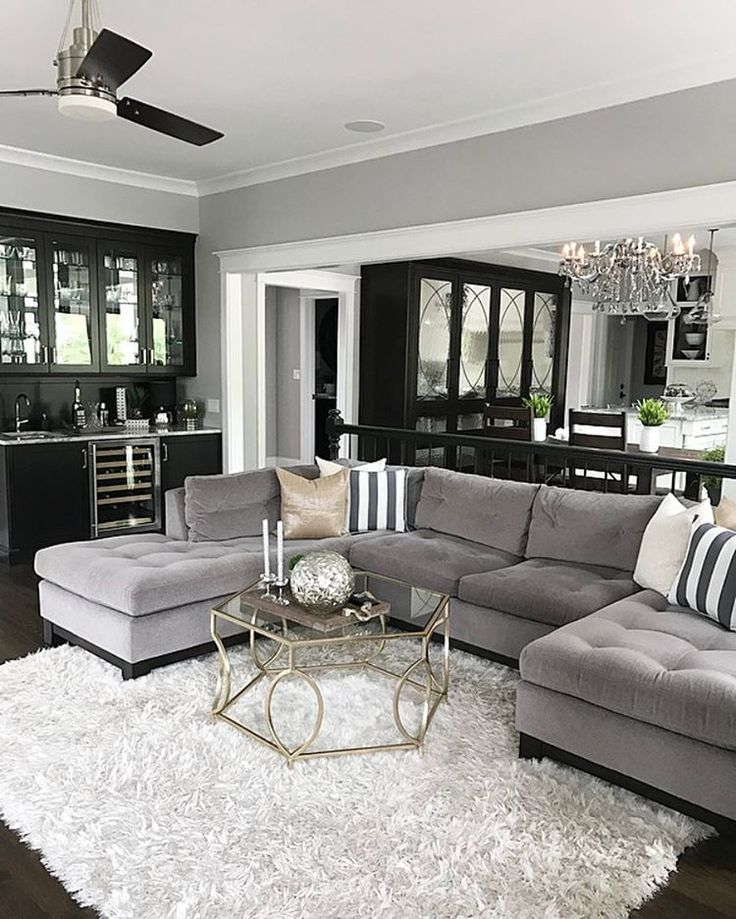 Gray Sofa Living Room Pueblosinfronteras Intended For ...