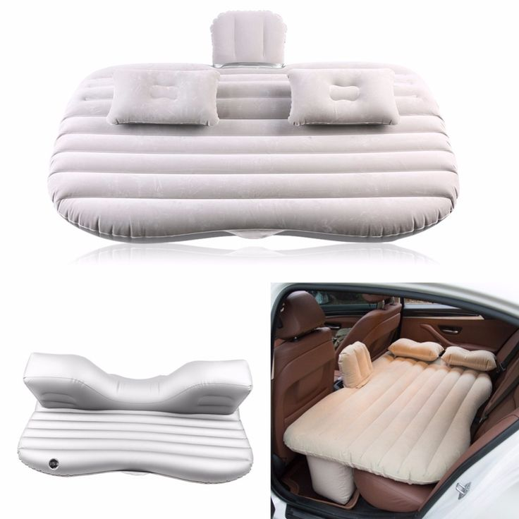Car Inflatable Bed Back Seat Mattress Airbed for Travel