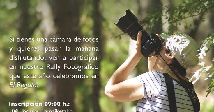Denbora celebra este domingo 11 de junio su concurso rali fotográfico en El Regato
