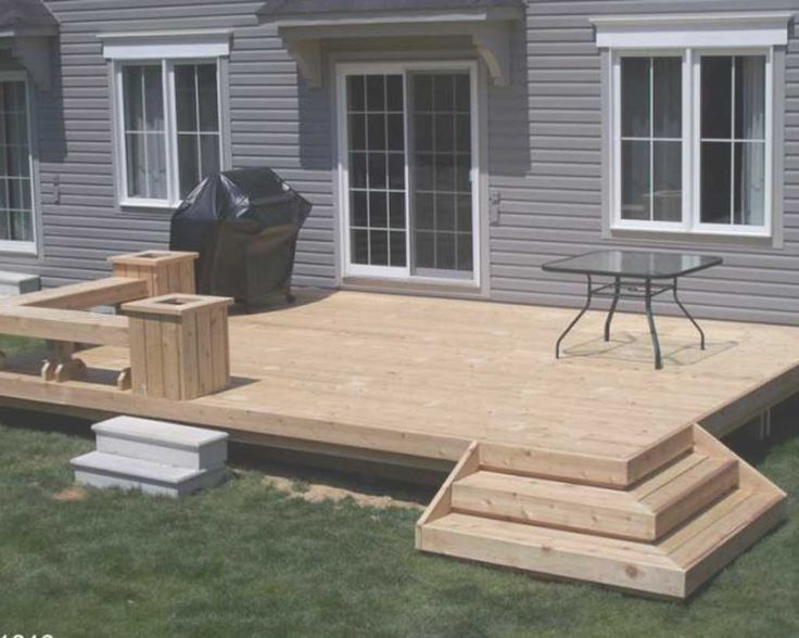 best 20+ small backyard decks ideas on pinterest | back patio ... - Backyard Patio Deck Ideas
