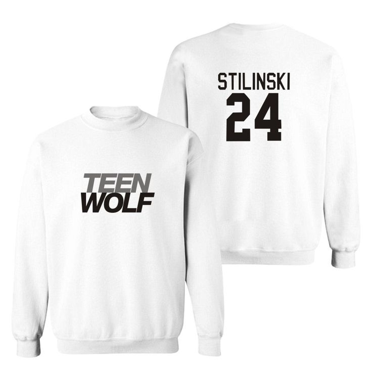 """Teen Wolf"" Stiles Stilinski 24 Men Autumn Sweatshirt"