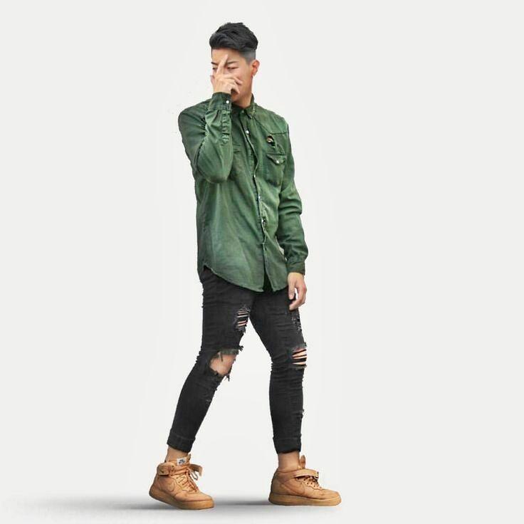 Carlos Medeiros - Moda Masculina: Looks Masculinos com Destroyed Jeans, pra inspirar!