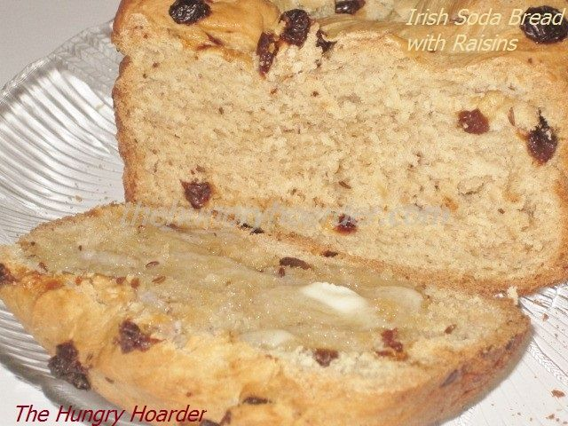 Irish Soda Bread with Raisins - This is the first time I have ever had ...