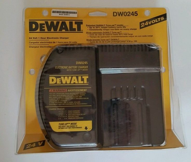 DeWalt DW0245 24V 1 Hour Battery Charger Genuine Part Tune Up Mode NEW #DeWalt