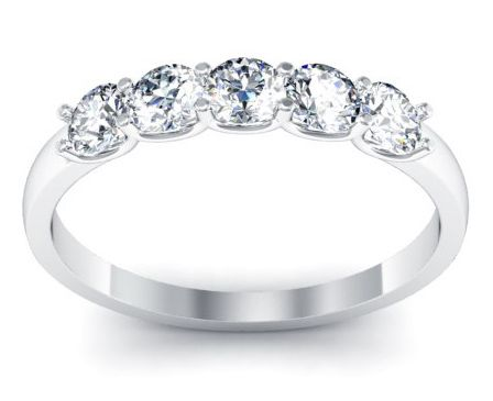 Las Diamond Wedding Bands For 1000 Or Less