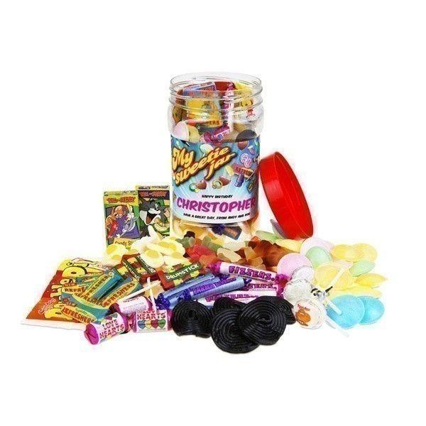 Personalised Sweet Jar   The Personalised Gift Shop