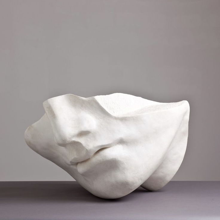 A 1980s Overlife sized Plaster Sculpture of a Face | From a unique collection of antique and modern sculptures at https://www.1stdibs.com/furniture/decorative-objects/sculptures/