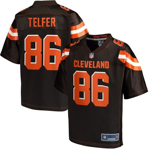 Randall Telfer Cleveland Browns NFL Pro Line Youth Player Jersey - Brown - $74.99