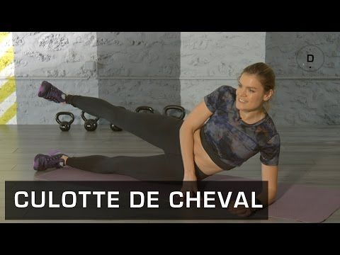 Fitness Master Class - Abdos Profonds - Lucile Woodward - YouTube