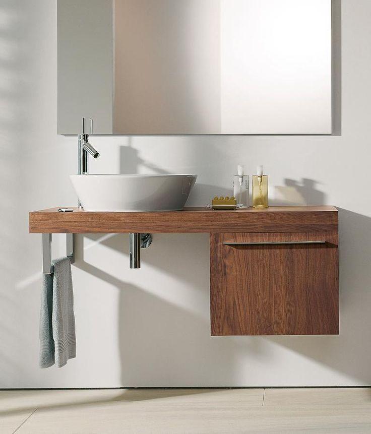Die besten 25+ Waschtisch mit unterschrank holz Ideen auf - badezimmer waschtisch mit unterschrank