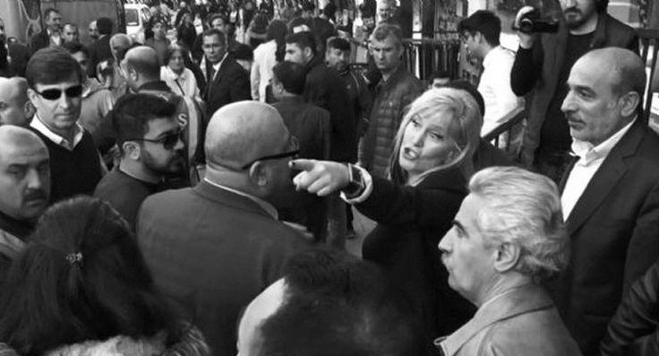 'Diktatörsünüz, yalancısınız': Bakan Eroğlu soru sormak isteyene 'Sonra' dedi, çevredekiler alkışladı