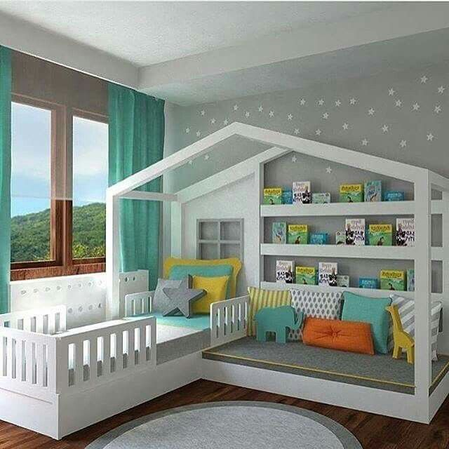 20 Modern Boys Bedroom Ideas (Represents Toddleru0027s Personality) In 2018 |  Home | Pinterest | Log Cabins, Cabin And Logs